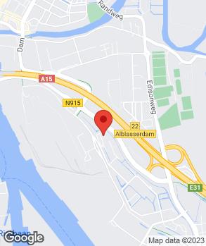 Locatie Autobedrijf P. van de Woerd op kaart