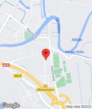 Locatie Auto M. Bouman B.V. op kaart