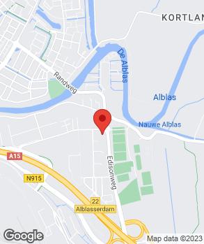Locatie Automobielbedrijf Wensveen B.V. op kaart