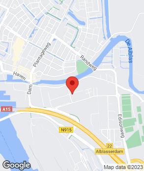 Locatie Autobedrijf M.R. Bakker op kaart