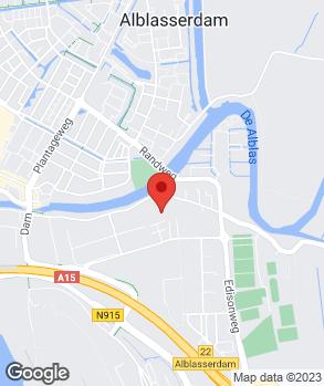 Locatie Abram de Haan Garagebedrijf B.V. op kaart