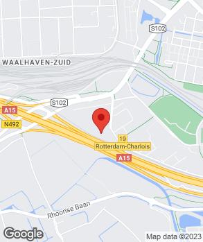 Locatie Euromaster Rotterdam op kaart