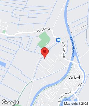 Locatie Auto Centrum Arkel op kaart