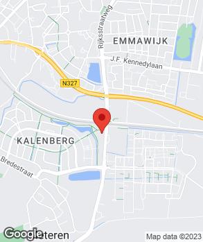 Locatie Autobedrijf Ruud den Hartog B.V. op kaart