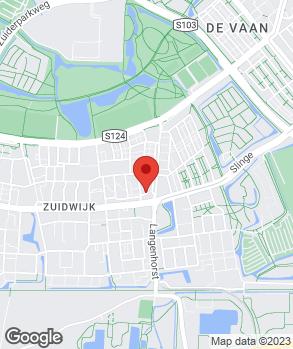 Locatie Garagebedrijf Slinge op kaart