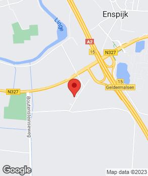 Locatie V.O.F. Autobedrijf P.J. Blom op kaart