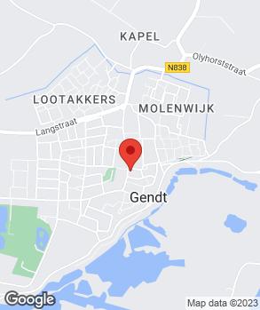 Locatie V.O.F. Autobedrijf van Sambeek op kaart