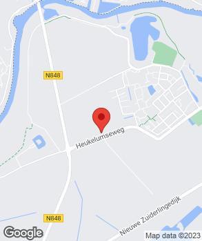 Locatie Hartog's Autobedrijf Asperen B.V. op kaart