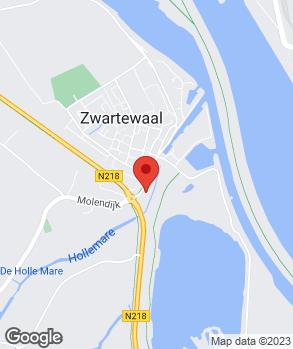 Locatie Autobedrijf Van der Hoek op kaart