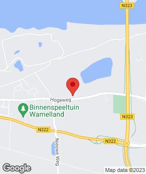 Locatie Automobielbedrijf van Hunnik Wamel B.V. op kaart