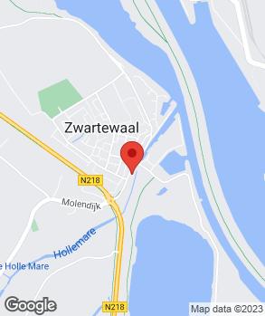 Locatie W.H. van Vliet op kaart