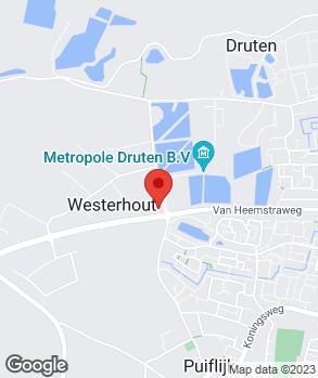 Locatie Autobedrijf J. van den Heuvel op kaart