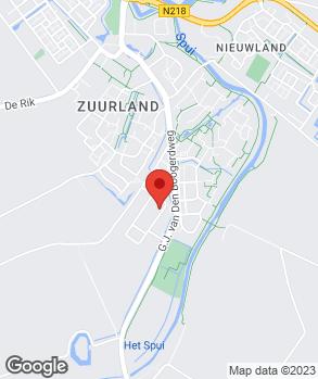 Locatie Automobielbedrijf Gebr. Groenenberg op kaart