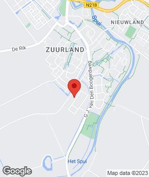 Locatie Garage van Eendenburg op kaart