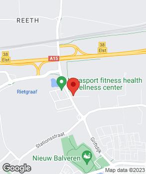 Locatie Garagebedrijf G. Zaat op kaart
