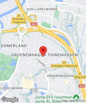 Locatie Servicestat. Tuinenhoven A. Broekhuizen B.V. op kaart