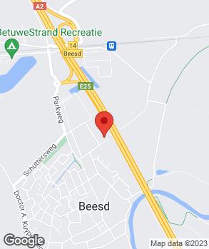 Locatie V.O.F. Autobedrijf De Waag op kaart