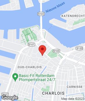 Locatie Carshop Charlois op kaart