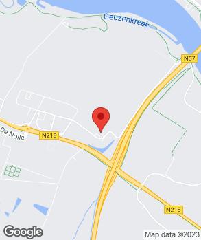 Locatie Auto van der Burgh-Brielle B.V. op kaart