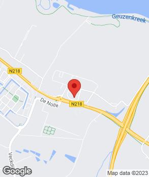Locatie Auto Rodijk B.V. | Jan van Dijk Brielle op kaart