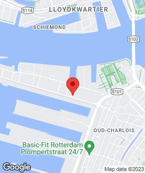 Locatie Garagebedrijf Charlois op kaart