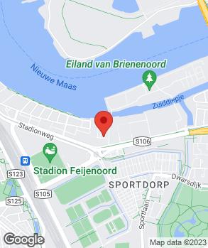 Locatie Garage Rijnmond op kaart