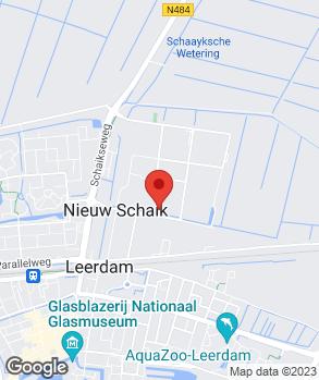 Locatie Autobedrijf Van Mill Leerdam B.V. (verhuisd) op kaart