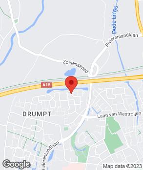 Locatie J. de Hoogt Happycar op kaart