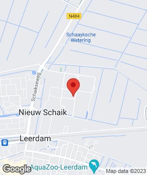 Locatie Van Wijk Autoschade Leerdam B.V. op kaart