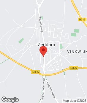 Locatie Automobielbedrijf van Remmen-Gademan B.V. op kaart