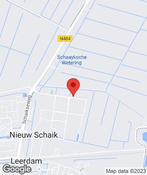 Locatie Hovo Automobielen op kaart
