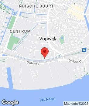 Locatie Nooteboom Vlaardingen op kaart