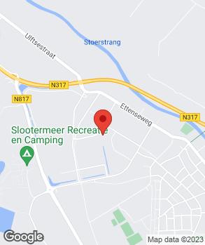 Locatie AG Auto's op kaart