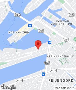 Locatie Garagebedrijf Rijnhaven op kaart
