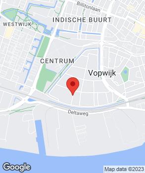 Locatie Jaap's Autoschade op kaart