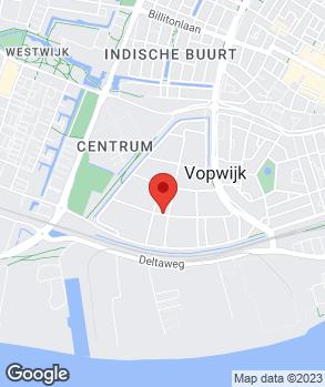 Locatie All Cars op kaart