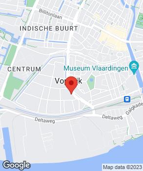 Locatie Hoogendijk Automaterialen B.V. op kaart