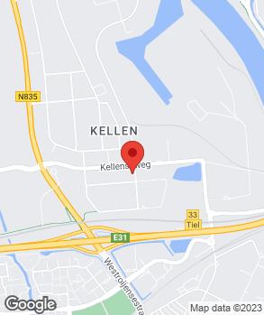 Locatie Bochane Auto Tiel op kaart