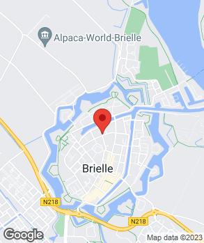 Locatie Autocentrum Brielle op kaart