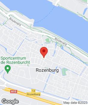 Locatie Autobedrijf Lievaart Spijkenisse B.V. op kaart
