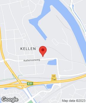 Locatie Henk Scholten Tiel B.V. op kaart