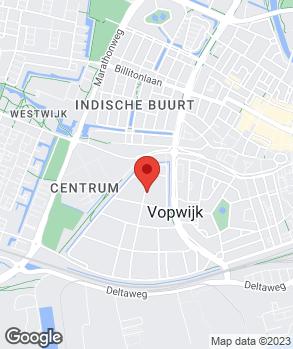 Locatie Eendenwacht op kaart