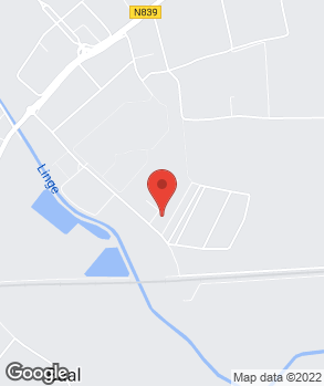 Locatie Caron op kaart