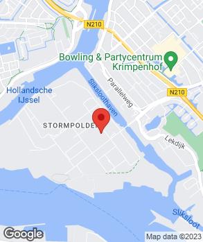 Locatie Automaterialen Chris Dijkgraaf B.V.   Dijkgraaf Krimpen op kaart