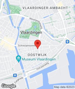 Locatie V.O.F. Autobedrijf R. van den Berg op kaart