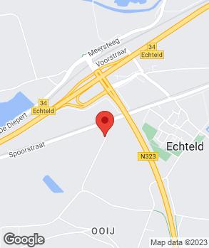 Locatie Effenberger op kaart