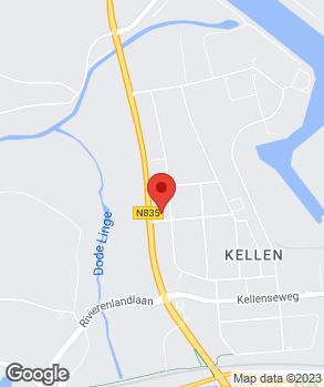Locatie Visscher VKV Tiel | VKV Nissan Tiel op kaart