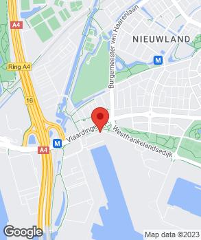 Locatie Vink & Evag Schiedam op kaart