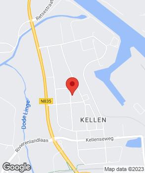 Locatie Autobedrijf De Beus op kaart