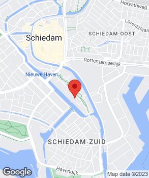 Locatie Automobielbedrijf Van der Ree op kaart